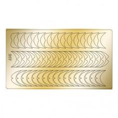 Freedecor, Металлизированные наклейки №217, золото