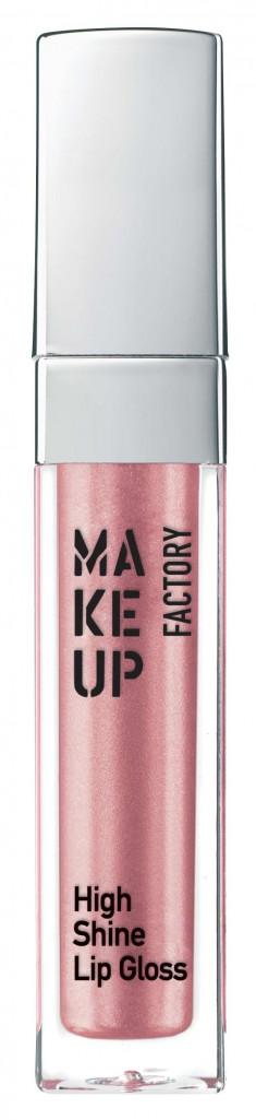 MAKE UP FACTORY Блеск с эффектом влажных губ, 20 розовая глазурь / High Shine Lip Gloss 6,5 мл