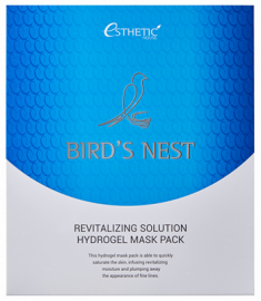 Маска для лица гидрогелевая ESTHETIC HOUSE BIRD'S NEST REVITALIZING HYDROGEL MASK PACK 28г*5шт