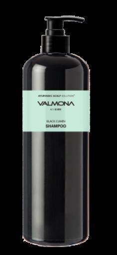 Шампунь для волос АЮРВЕДА EVAS VALMONA Ayurvedic Scalp Solution Black Cumin Shampoo 480мл