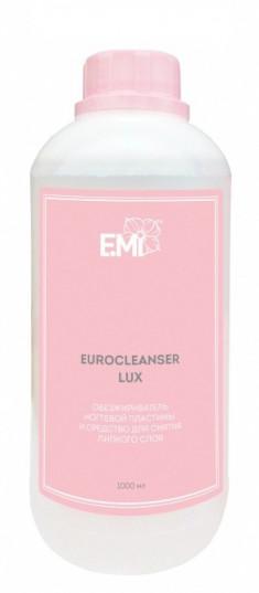 E.MI Средство для обезжиривания ногтей и снятия липкого слоя / Eurocleanser LUX 1000 мл