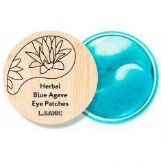 L.Sanic Гидрогелевые патчи для кожи вокруг глаз с экстрактом голубой агавы N60