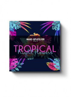 НАБОР КОСМЕТИЧЕСКИЙ MAKE-UP ATELIER PARIS TROPICAL NIGHT FLOWERS