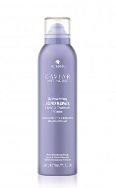 ALTERNA Мусс интенсивный для восстановления структуры волос / Caviar Anti-Aging Restructuring Bond Repair Leave-in Treatment Mousse 241 г