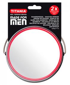 TITANIA Зеркало настольное двойное D-15,5 см 1500 / MEN B