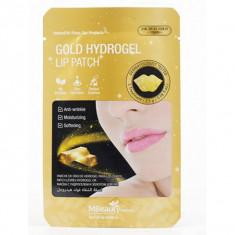 гидрогелевые патчи для губ с золотом mbeauty gold hydrogel lip patch