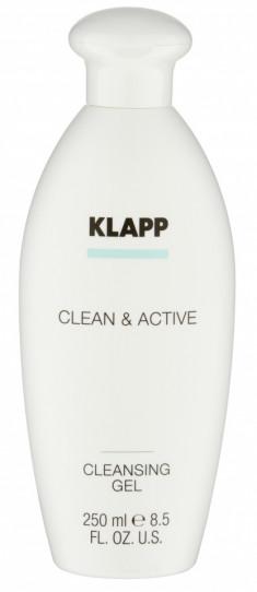 KLAPP Гель очищающий для лица / CLEAN & ACTIVE 250 мл
