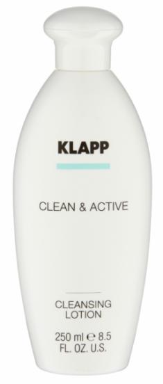 KLAPP Молочко очищающее для лица / CLEAN & ACTIVE 250 мл