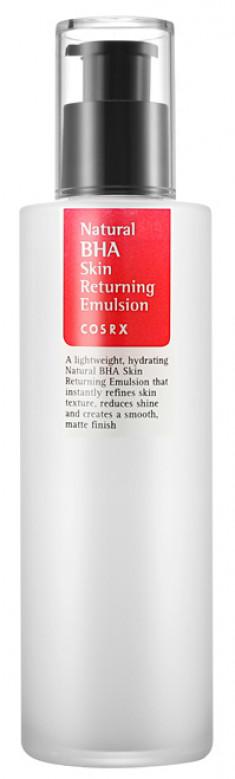 COSRX Эмульсия с BHA-кислотой для жирной и проблемной кожи / Natural BHA Skin Returning Emulsion 100 мл