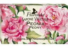 FLORINDA Мыло растительное, пион / Peonia 200 г