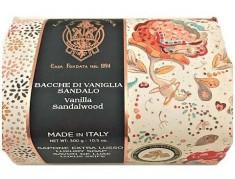 LA FLORENTINA Мыло натуральное, ваниль и сандаловое дерево / Vanille & Sandal wood 270 г