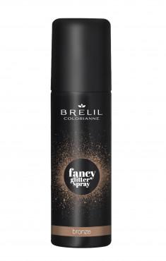 BRELIL PROFESSIONAL Спрей-блеск фантазийный для волос, бронзовый / Colorianne FANCY GLITTER SPRAY 75 мл