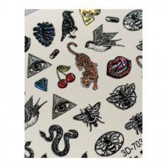 AnnaTkacheva,3D-слайдерCrystal№703 «Змеи. Кожа» Anna Tkacheva