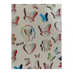 AnnaTkacheva,3D-слайдерCrystal№516 «Бабочки. Любовь» Anna Tkacheva