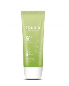 FRUDIA Гель солнцезащитный с зеленым виноградом Себум контроль SPF50 + PA ++++ 50 г