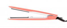 DEWAL PROFESSIONAL Щипцы для выпрямления волос Coral оранжевые, с терморегулятором, титаново-турмалиновое покрытие, 23 х 87 мм, 40 Вт