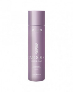 Шампунь для гладкости волос OLLIN Shampoo for smooth hair 300мл