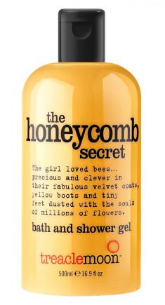 TREACLEMOON Гель для душа Медовый десерт / The honeycomb secretBath & shower gel 500 мл