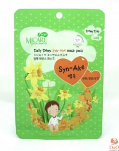 Маска тканевая со змеиным ядом Mijin Care Daily Dewy Syn-Ake mask pack 25г
