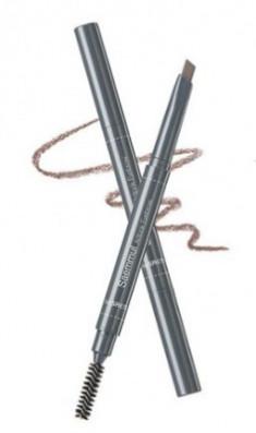 Карандаш для бровей THE SAEM Saemmul Artlook Eyebrow 06 Ash Brown 0,2г