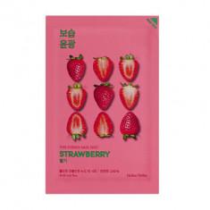 Маска тканевая освежающая с клубникой Holika Holika PURE ESSENCE Pure Essence Mask Sheet Strawberry 20 мл