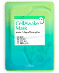 Тканевая маска с морским коллагеном Callicos CellAwake Marine Collagen 25 г