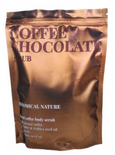 Скраб для тела Кофе и шоколад Skinomical Natural Coffee Chocolate Scrub 250г