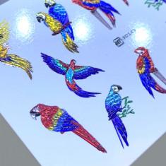 AnnaTkacheva,3D-слайдерCrystalHT№145 «Птицы. Попугай» Anna Tkacheva