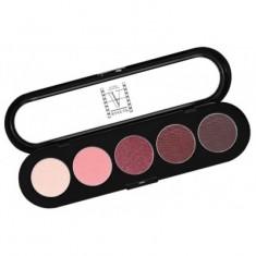 Палитра теней, 5 цветов Make-Up Atelier Paris T16 вишневые с переливом тона