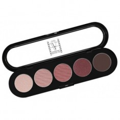 Палитра теней, 5 цветов Make-Up Atelier Paris T10 коричнево-сиреневые тона