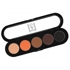 Палитра теней, 5 цветов Make-up Atelier Paris T02 теплые тона