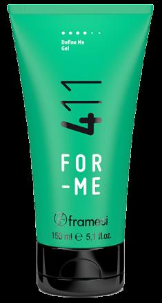 FRAMESI Гель сильной фиксации для волос / FOR-ME 411 DEFINE ME GEL 150 мл