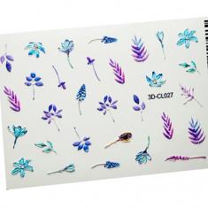 AnnaTkacheva,3D-стикерCL№027 «Цветы. Весна» Anna Tkacheva