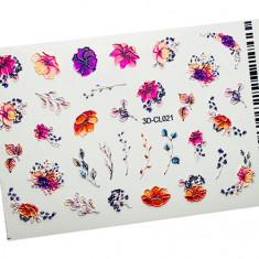 AnnaTkacheva,3D-стикерCL№021 «Цветы. Веточки» Anna Tkacheva