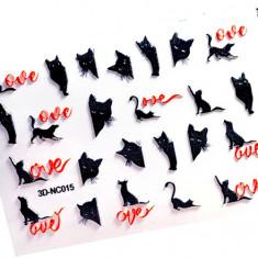 AnnaTkacheva,3D-стикерCL№015 «Животные. Кошки» Anna Tkacheva