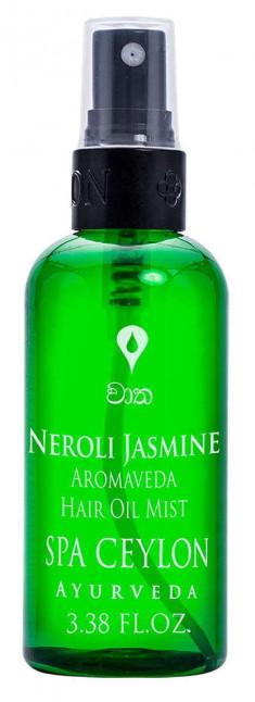 SPA CEYLON Спрей на основе масла для нормальных и сухих волос Нероли и жасмин 100 мл