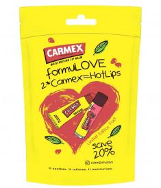 CARMEX Набор бальзамов для губ (классический в тубе 10 г + гранатовый в стике 4,25 г) Carmex