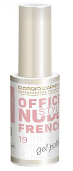 GIORGIO CAPACHINI 19 гель-лак для ногтей / French OFFICE NUDE STYLE 12 мл