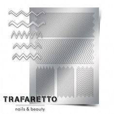 Trafaretto, Металлизированные наклейки GM-06, серебро