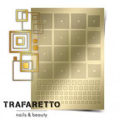 Trafaretto, Металлизированные наклейки GM-03, золото