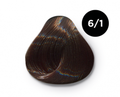 OLLIN PROFESSIONAL 6/1 краска для волос, темно-русый пепельный / OLLIN COLOR 100 мл