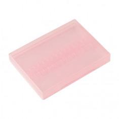 IRISK, Бокс для фрез, прозрачно-розовый