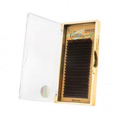 EVABOND, Ресницы на ленте «Колибри», D=0,10, C-изгиб, темный шоколад