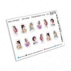 BPW.style, Наклейки «Девушки» №ns7-20
