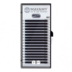 MAYAMY, Ресницы на ленте Mink Mix 2, D-изгиб, 0,07 мм