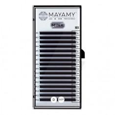 MAYAMY, Ресницы на ленте Mink Mix, D-изгиб, 0,07 мм
