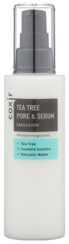 COXIR Эмульсия с чайным деревом для сужения пор 100 мл