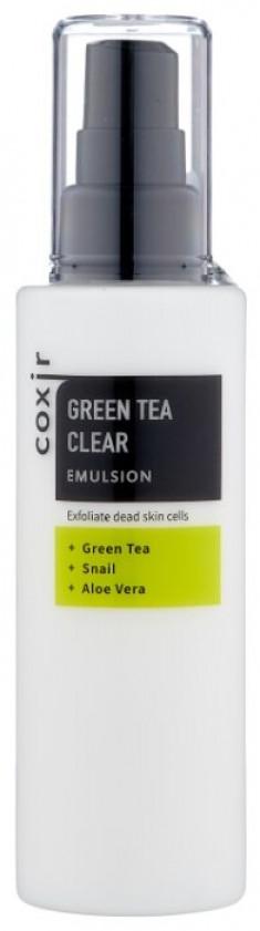 COXIR Эмульсия с зеленым чаем 100 мл