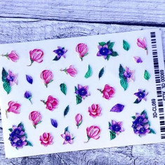 AnnaTkacheva,3D-стикерCL№069 «Цветы. Цветочки» Anna Tkacheva