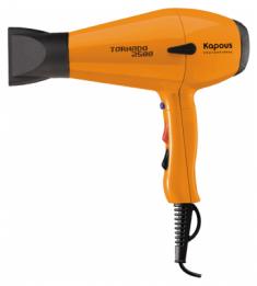 KAPOUS Фен профессиональный Kapous Tornado 2500, оранжевый